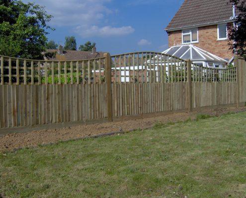 Closeboard Garden Fencing