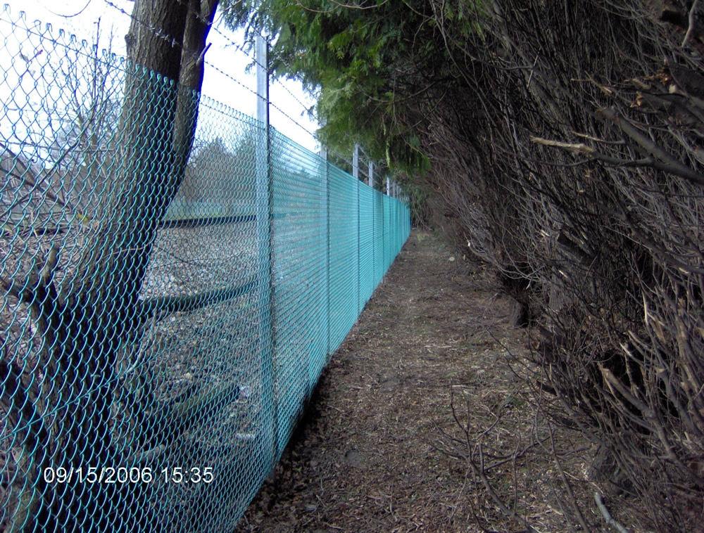 Chain Link Security Fencing Kent