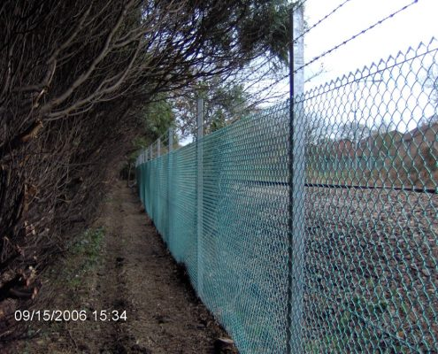 Chain Link Security Fencing