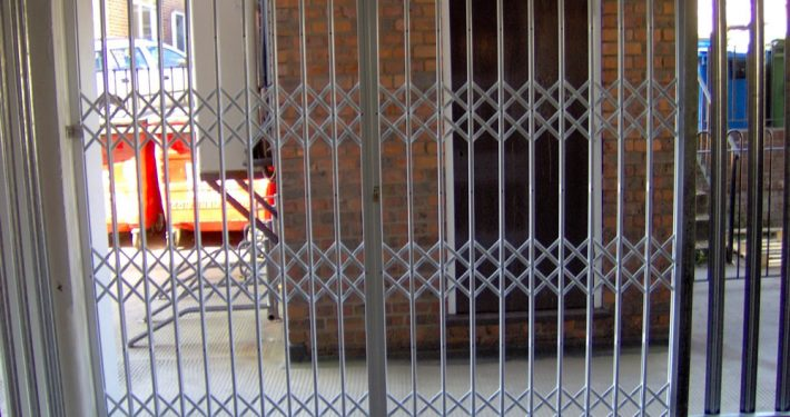 rigid mesh gate