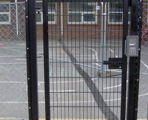 Security Fencing – Rigid Mesh