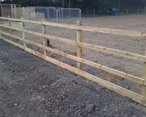 Estate Park and Rail Fencing