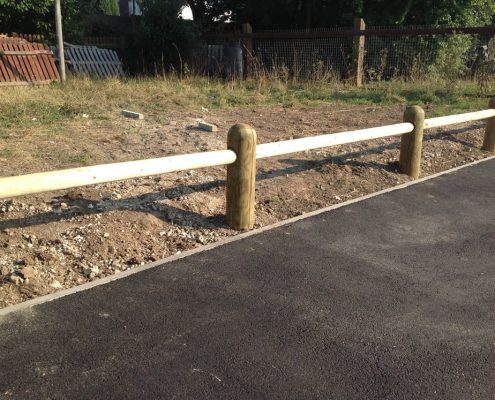 knee rail fencing