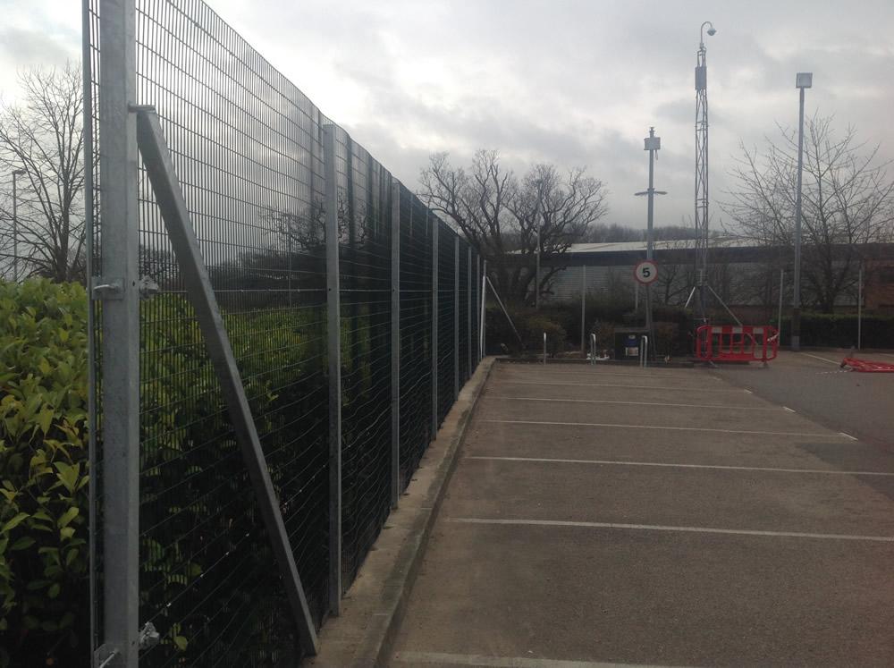 Weldmesh Security Fencing Kent